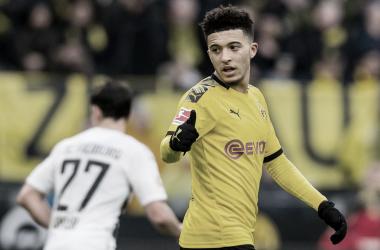 Borussia Dortmund diz não atrapalhar possível saída de Sancho rumo à Inglaterra