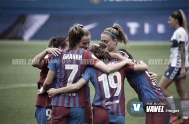 Resumen FCB Femení vs Valencia en la Primera División Femenina (8-0)