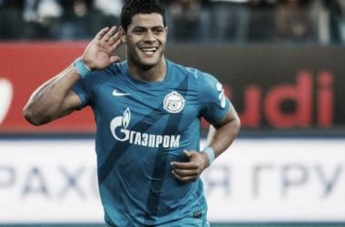 Hulk, jugador del Zenit   Foto: Zenit FC