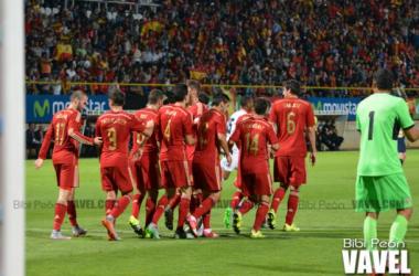 Fotos e imágenes del España 2-1 Costa Rica, partido amistoso internacional 2015
