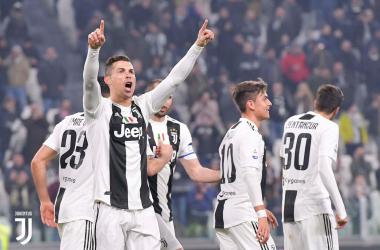 Serie A - Juve in scioltezza: i bianconeri battono 3-0 il Frosinone
