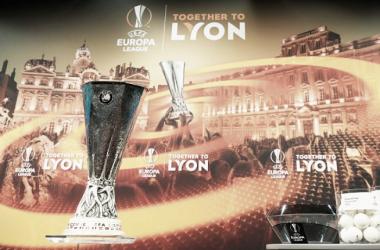 Taça da Europa League, em Nyon, na Suíça (Foto:Fabrice Coffrini/AFP)