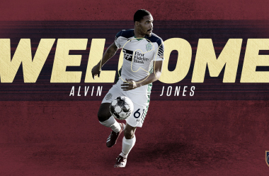 Alvin Jones refuerza a Real Salt Lake