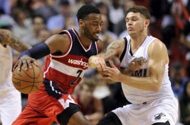 Washington Wizards Take Down Miami Heat On Wall's 26 Points