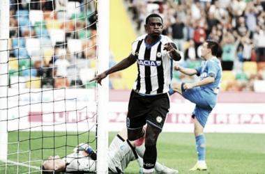Duván Zapata anotó en la derrota del Udinese en la Serie A