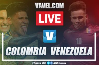 Goles y resumen: Colombia 2-1 Venezuela en Preolímpico