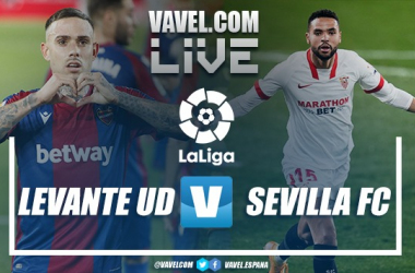 Resumen Levante UD 0-1 Sevilla FC en LaLiga 2021
