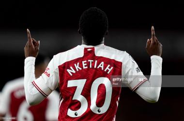 How far can Eddie Nketiah go at Arsenal?