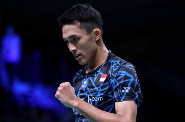 Jonathan Christie Lolos Ke Babak Kedua Denmark Open 2018
