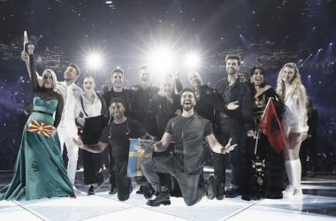 Los diez finalistas de la segunda semifinal // Image: eurovision.tv