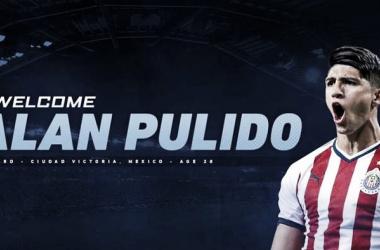 Sporting Kansas City ficha a Alan Pulido
