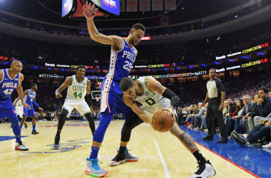 Ben Simmons is putting the NBA on lockdown