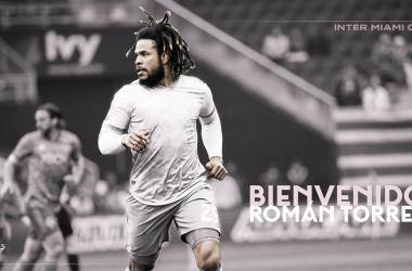 Román Torres firma por Inter Miami CF