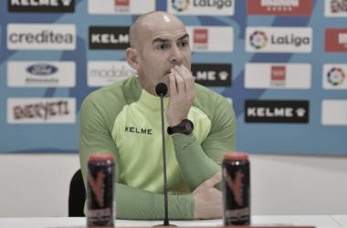 """Paco Jémez: """"Ahora solo tengo un extremo. Las necesidades del equipo están claras"""""""