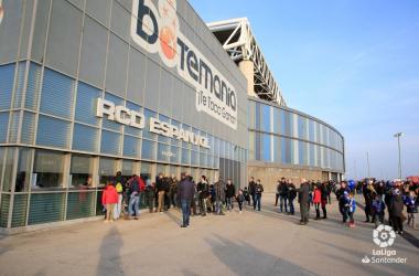 Estadio del Espanyol. Fotografía: La liga