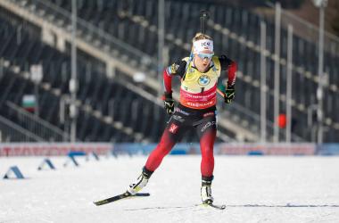 Tiril Eckhoff s'adjuge la poursuite de Nove Mesto.