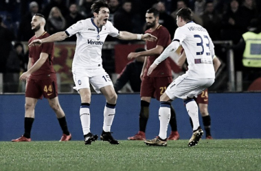 De Roon anotou o segundo gol da Atalanta (Foto: Foto: Tiziana Fabi/AFP)