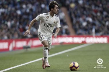 Álvaro Odriozola y la ardua tarea de convencer a Zidane