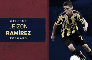 Real Salt Lake firma a Jeizon Ramírez