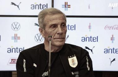 Óscar Tabárez DT de Uruguay