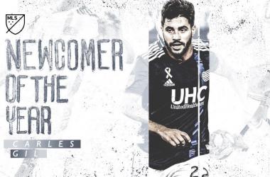 Carles Gil, MLS Fichaje del Año 2019