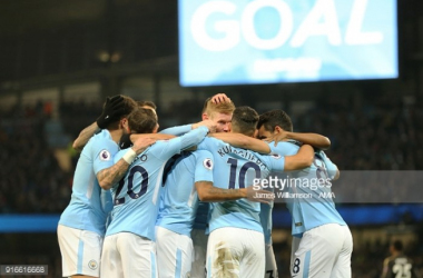 Manchester City 5-1 Leicester City: Aguero's four goals too much to handle for Foxes