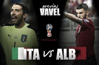 Previa Italia – Albania: obligación de ganar