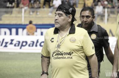 Diego Armando Maradona | Fotografía: Nallely Calderón VAVEL México