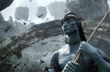 "<font size=""2"">Sam Worthington, en 'Avatar' (2009). Foto: 20th Century Fox</font>"