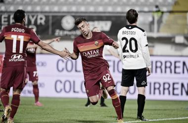 Spezia 2 a 2 Roma (Serie A / Divulgação)