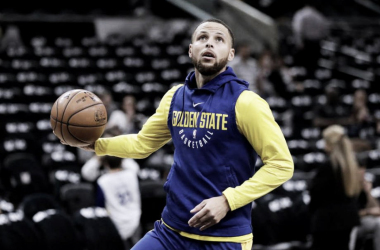 Stephen Curry podría volver este mismo domingo. Foto: AP Photo