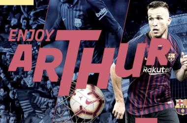Arthur se convierte en el primer fichaje del Barça / Fuente: FC Barcelona