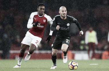 Arsenal vs Manchester City en la temporada 2017/18. | Foto: Premier League.