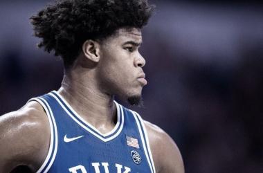 Carey Jr. leaves Duke and enters NBA Draft