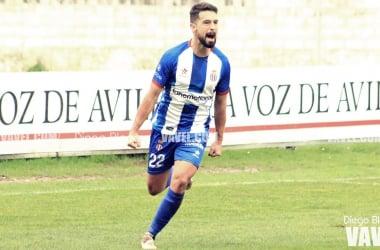Vitolo celebra el primer gol del encuentro | Foto: Diego Blanco - VAVEL