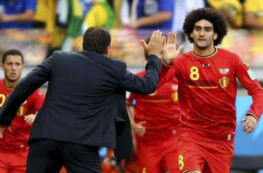 Bélgica debuta con el pie derecho