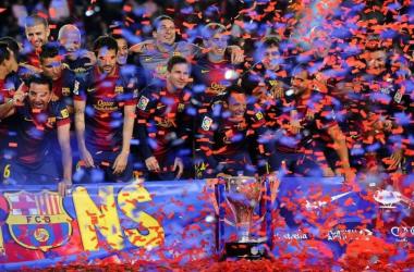 Com direito a entrega de taça, Barcelona vence o Valladolid