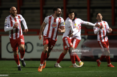 Stevenage 1-1 Bradford City: Boro and Bantams cancel one another out
