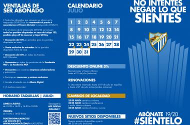 Toda la información sobre la campaña de abonados | Foto: MálagaCF