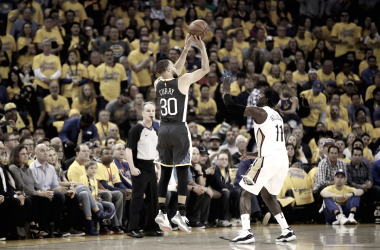 Regreso encendido de Stephen Curry para la victoria de Golden State Warriors