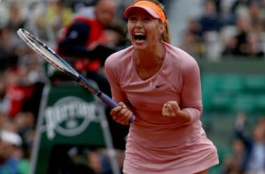 Sharapova saca a Muguruza de la pista