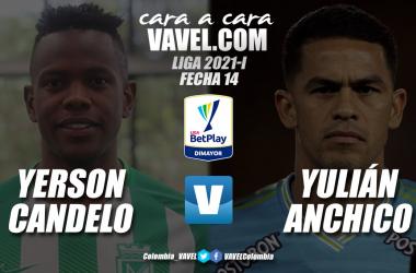 Cara a cara: Yerson Candelo vs. Yulián Anchico