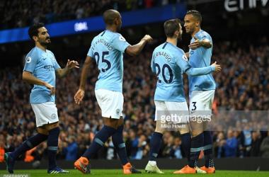 Manchester City 3-1 Brighton & Hove Albion: City break goal record in Yaya Toure's Etihad goodbye