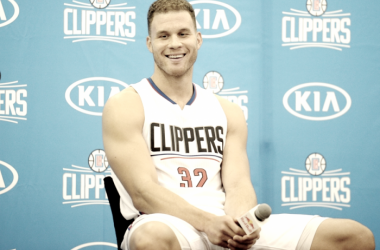 With Chris Paul departing the club, all eyes will be on Blake Griffin to lift the Clippers. Photo: Gary A. Vasquez-USA TODAY Sports