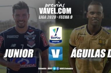Previa Junior vs. Águilas Doradas: El campeón de la Superliga recibe al conjunto antioqueño
