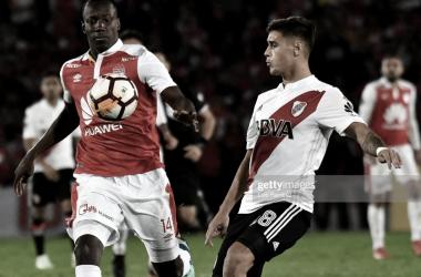 Imagen del último encuentro entre Independiente de Santa Fe y River Plate.