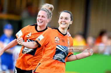 Australian international Hayley Raso due to join Everton Women from Brisbane Roar