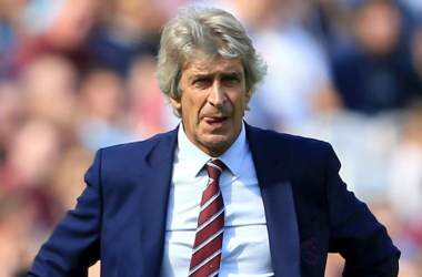 Manuel Pellegrini still believes in his players but the missed chances are a concern