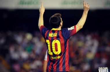 Entrada heroica de Leo Messi