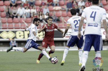 CD Numancia - Real Zaragoza temporada 2016/2017/ Foto: laliga.es
